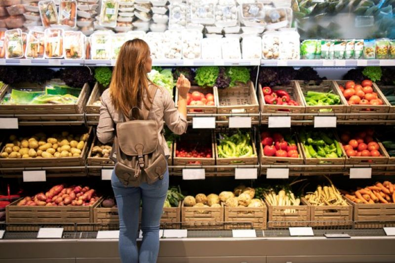 bio vegetable shelves